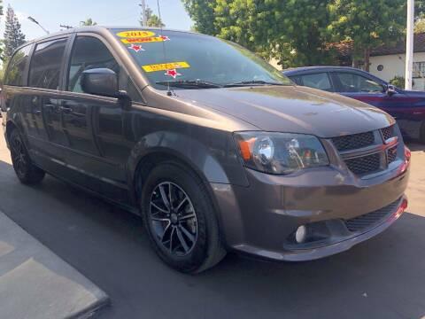 2015 Dodge Grand Caravan for sale at Devine Auto Sales in Modesto CA