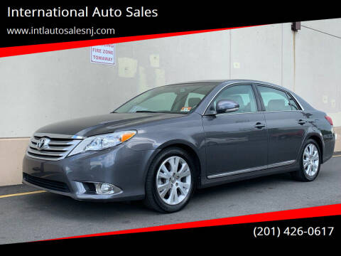 2011 Toyota Avalon for sale at International Auto Sales in Hasbrouck Heights NJ
