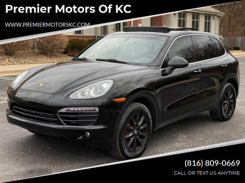 2012 Porsche Cayenne for sale at Premier Motors of KC in Kansas City MO