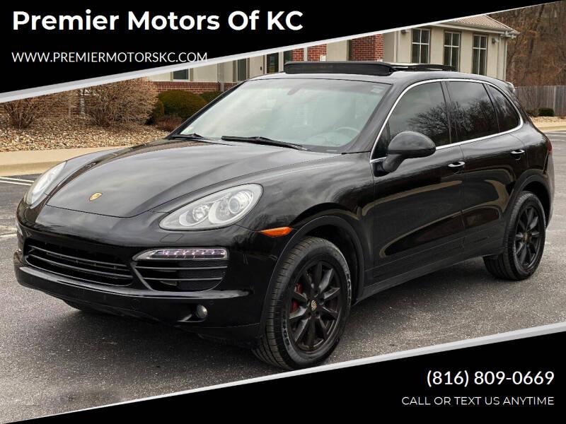 2012 Porsche Cayenne for sale at Premier Motors of KC in Kansas City MO