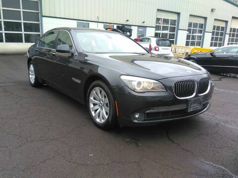 2011 BMW 7 Series for sale at MOUNT EDEN MOTORS INC in Bronx NY