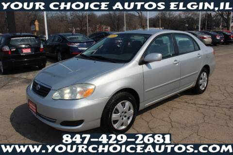 2008 Toyota Corolla for sale at Your Choice Autos - Elgin in Elgin IL