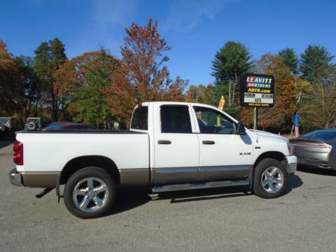 2008 Dodge Ram Pickup 1500 for sale at Leavitt Brothers Auto in Hooksett NH