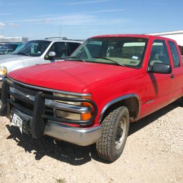 1996 Chevrolet C/K 2500 Series for sale at BENHAM AUTO INC in Lubbock TX