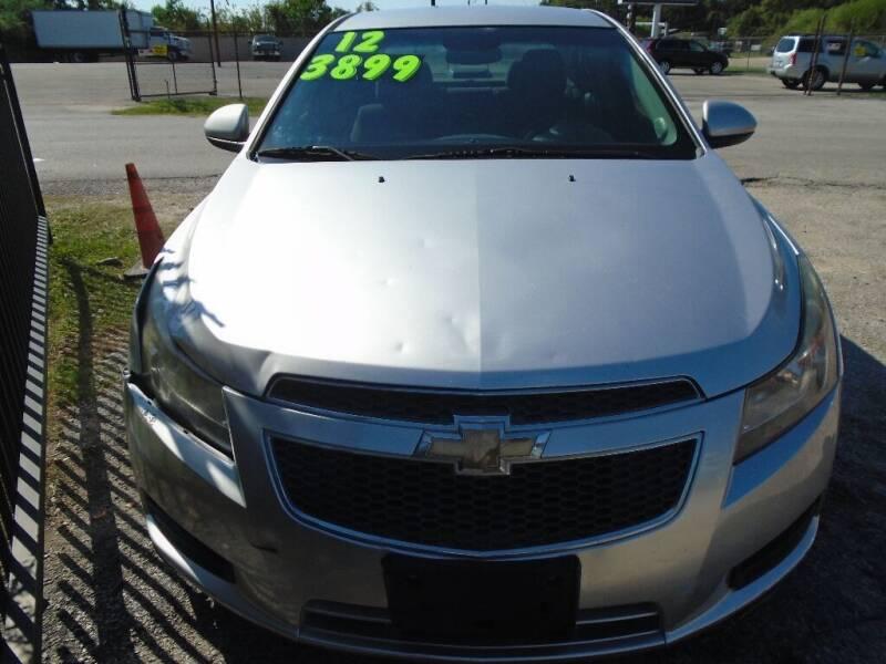 2012 Chevrolet Cruze for sale at SCOTT HARRISON MOTOR CO in Houston TX