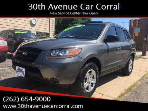 2009 Hyundai Santa Fe for sale at 30th Avenue Car Corral in Kenosha WI