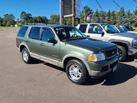 2002 Ford Explorer for sale at Rum River Auto Sales in Cambridge MN