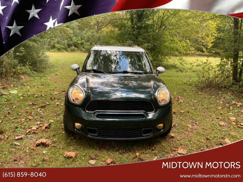 2011 MINI Cooper Countryman for sale at Midtown Motors in Greenbrier TN