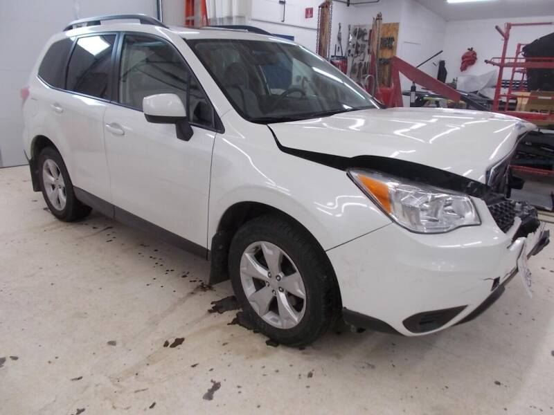 2016 Subaru Forester for sale at CousineauCrashed.com in Weston WI