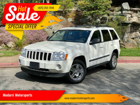 2007 Jeep Grand Cherokee for sale at Mudarri Motorsports in Kirkland WA