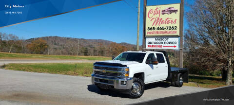 2015 Chevrolet Silverado 3500HD for sale at City Motors in Mascot TN