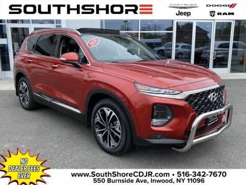 2020 Hyundai Santa Fe for sale at South Shore Chrysler Dodge Jeep Ram in Inwood NY
