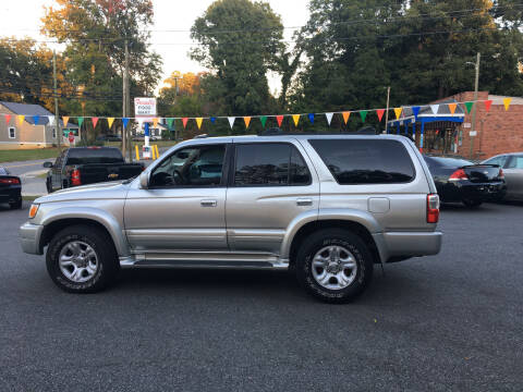 2002 Toyota 4Runner for sale at Diamond Auto Sales in Lexington NC