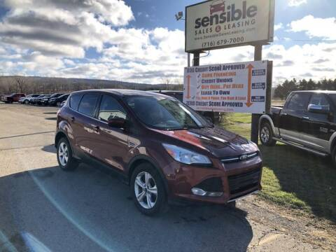 2014 Ford Escape for sale at Sensible Sales & Leasing in Fredonia NY