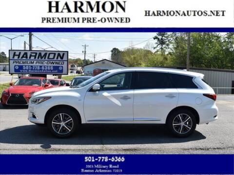 2018 Infiniti QX60 for sale at Harmon Premium Pre-Owned in Benton AR