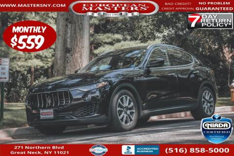 2018 Maserati Levante for sale at European Masters in Great Neck NY