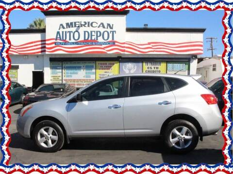 2010 Nissan Rogue for sale at American Auto Depot in Modesto CA