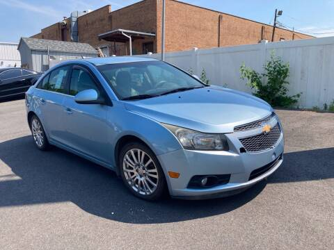 2012 Chevrolet Cruze for sale at Michaels Used Cars Inc. in East Lansdowne PA