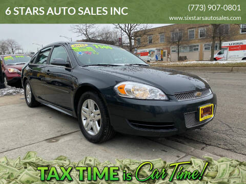 2012 Chevrolet Impala for sale at 6 STARS AUTO SALES INC in Chicago IL