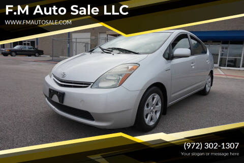 2008 Toyota Prius for sale at F.M Auto Sale LLC in Dallas TX