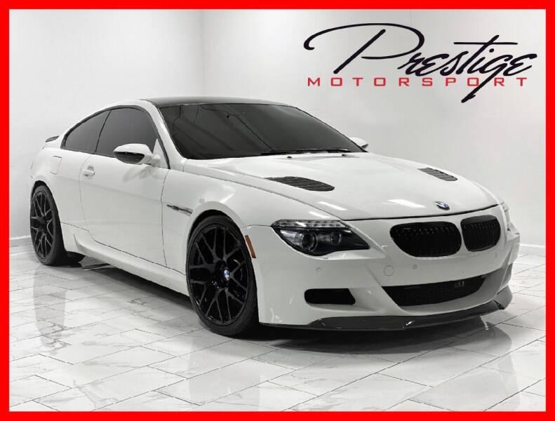 2008 BMW M6 for sale at Prestige Motorsport in Rancho Cordova CA