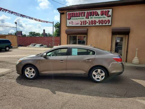 2011 Buick LaCrosse for sale at SELLECT AUTO INC in Philadelphia PA