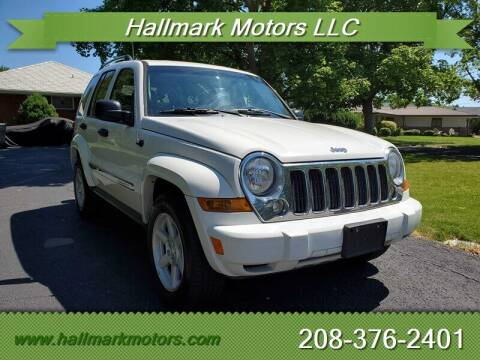 2006 Jeep Liberty for sale at HALLMARK MOTORS LLC in Boise ID