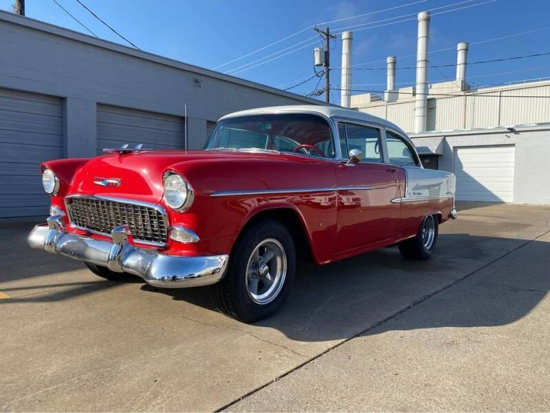 1955 Chevrolet Bel Air for sale at Grubbs Motorsports & Collision in Garland TX