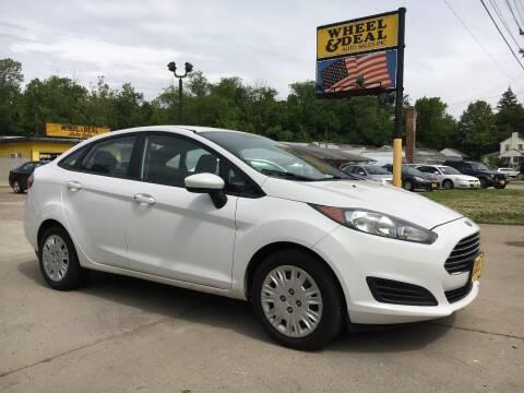 2014 Ford Fiesta for sale at Wheel & Deal Auto Sales Inc. in Cincinnati OH