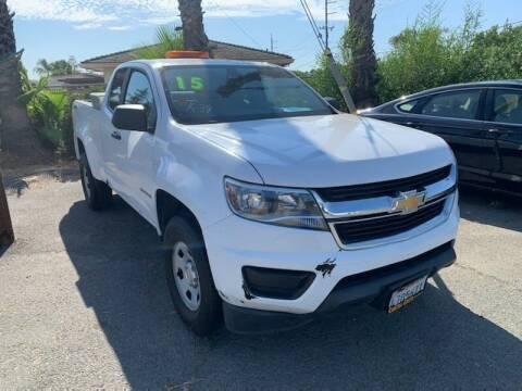 2015 Chevrolet Colorado for sale at Contra Costa Auto Sales in Oakley CA