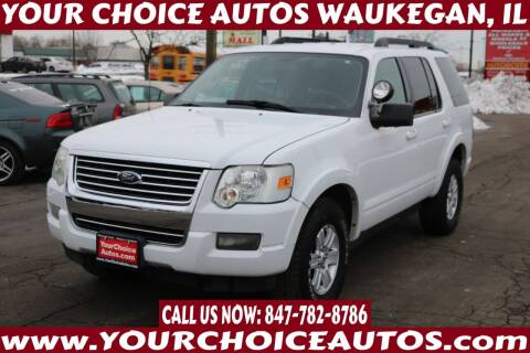 2010 Ford Explorer for sale at Your Choice Autos - Waukegan in Waukegan IL