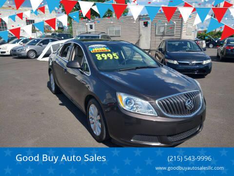 2016 Buick Verano for sale at Good Buy Auto Sales in Philadelphia PA