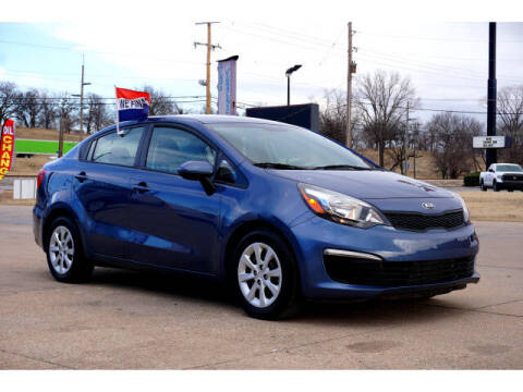 2016 Kia Rio for sale at Sand Springs Auto Source in Sand Springs OK