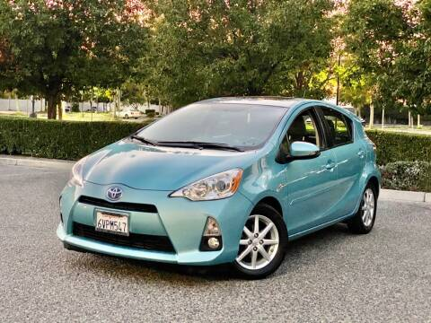 2012 Toyota Prius c for sale at Carfornia in San Jose CA