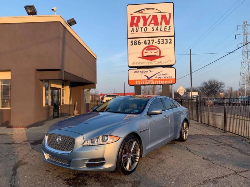 2011 Jaguar XJ for sale at Ryan Auto Sales in Warren MI