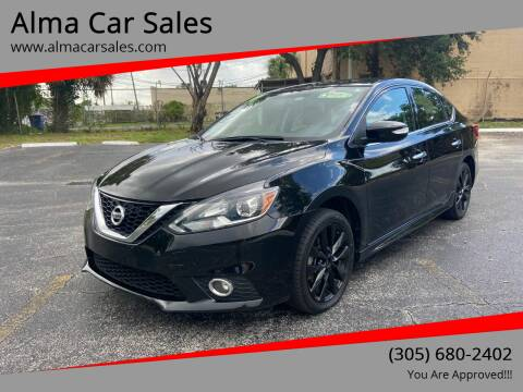 2017 Nissan Sentra for sale at Alma Car Sales in Miami FL