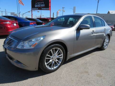 2008 Infiniti G35 for sale at Moving Rides in El Paso TX