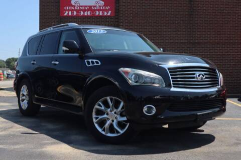 2013 Infiniti QX56 for sale at Hobart Auto Sales in Hobart IN