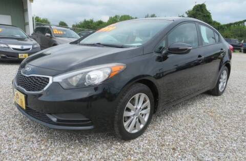 2014 Kia Forte for sale at Low Cost Cars in Circleville OH