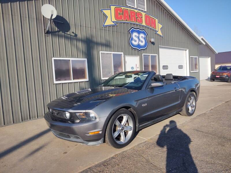2011 Ford Mustang for sale at CARS ON SS in Rice Lake WI