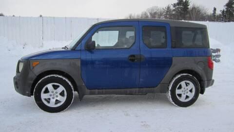 2004 Honda Element for sale at Superior Auto of Negaunee in Negaunee MI