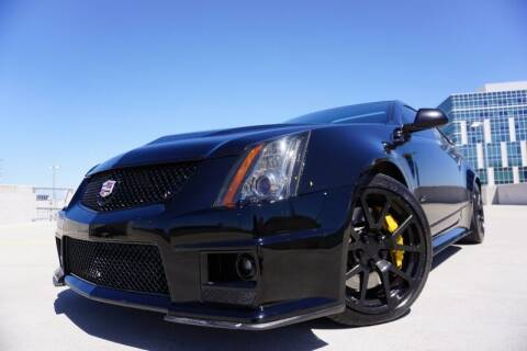 2012 Cadillac CTS-V for sale at JD MOTORS in Austin TX