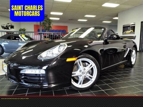 2011 Porsche Boxster for sale at SAINT CHARLES MOTORCARS in Saint Charles IL