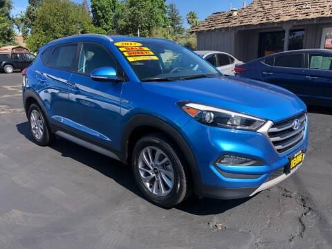 2017 Hyundai Tucson for sale at Devine Auto Sales in Modesto CA