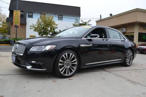 2017 Lincoln Continental for sale at Father and Son Auto Lynbrook in Lynbrook NY