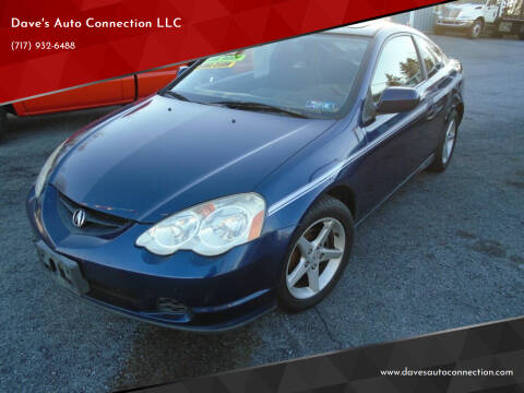 2002 Acura RSX for sale at Dave's Auto Connection LLC in Etters PA