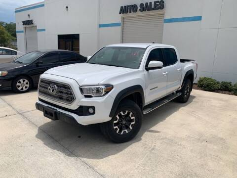 2017 Toyota Tacoma for sale at ETS Autos Inc in Sanford FL