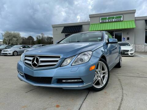 2012 Mercedes-Benz E-Class for sale at Cross Motor Group in Rock Hill SC