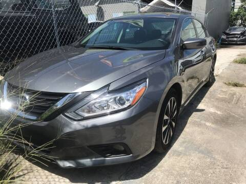 2018 Nissan Altima for sale at Eden Cars Inc in Hollywood FL