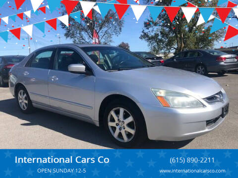 2005 Honda Accord for sale at International Cars Co in Murfreesboro TN